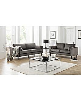 Victoria Velvet 3 Seater Sofa