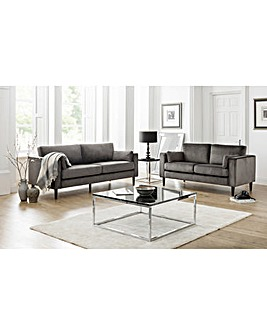 Victoria Velvet 2 Seater Sofa