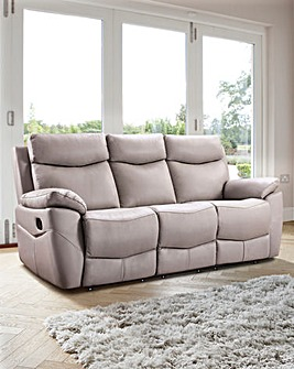 Marley Leather 3 Seater Recliner Sofa