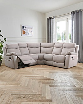 Marley Leather Recliner Corner Group