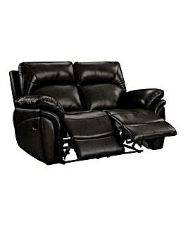 Warwick Leather 2 Seater Recliner Sofa