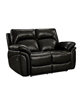 Warwick Luxury Leather 2 Seater Recliner Sofa