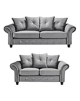 Evangeline 3 plus 2 Seater Sofa