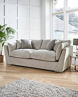 Lexy Standardback 3 Seater Sofa