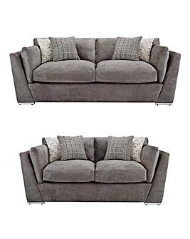 Lexy Standardback 3+2 Seater Sofa
