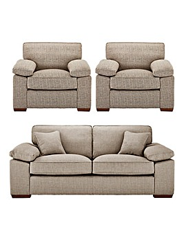 Spencer Standardback 3 Seater Sofa plus 2 Chairs