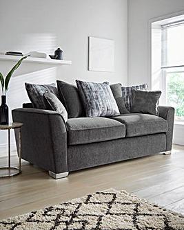 Cascade Pillowback 3 Seater Sofa