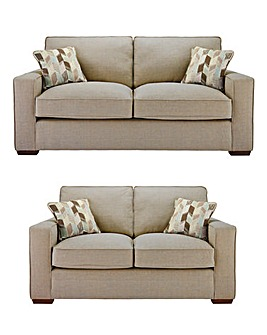 Dune Standardback 3 plus 2 Seater Sofa