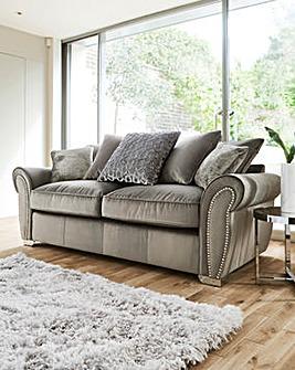 Chelsea Pillowback 3 Seater Sofa