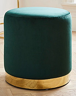 Imogen Stool With Gold Base