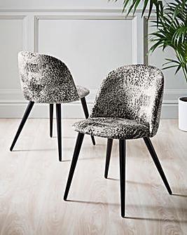 Savannah Pair of Dining Chairs