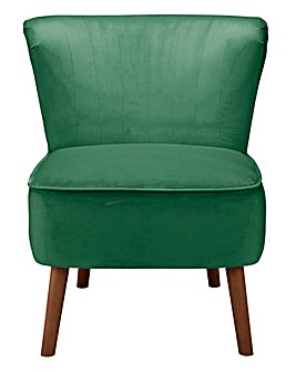 Elise Velvet Accent Chair
