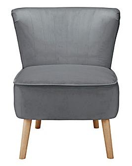 Elise Velvet Accent Chair