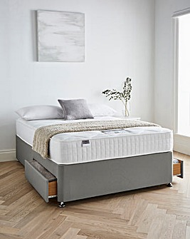 Silentnight Tranquility 1000 Pocket Divanset with 2 Drawers