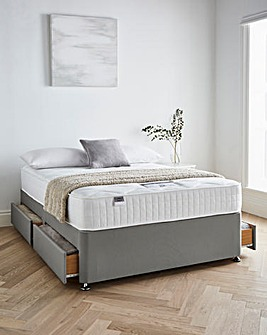 Silentnight Tranquility 1000 Pocket Divanset with 4 Drawers