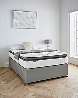Silentnight Tranquility 1000 Pocket Geltex Pillowtop Divanset