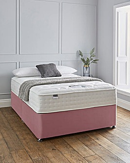 Silentnight Sanctuary 3000 Pocket Luxury Velvet Divanset
