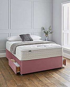 Silentnight Sanctuary 3000 Pocket Luxury Velvet Divanset with 2 Drawers