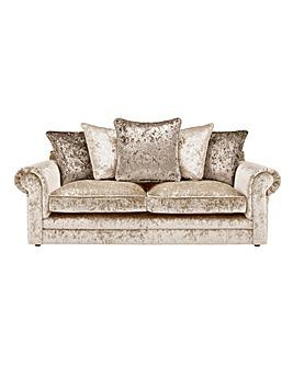 Nicolette Pillowback 3 Seater Sofa