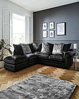 Nicolette Pillowback Lefthand Corner Chaise Sofa