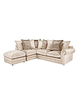 Nicolette Pillowback Lefthand Corner Chaise Sofa