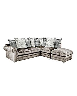 Nicolette Pillowback Righthand Corner Chaise Sofa