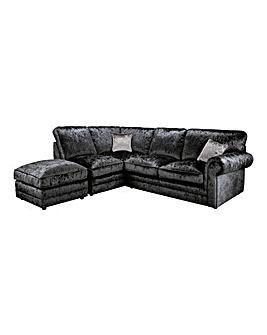 Nicolette Standardback Lefthand Corner Chaise Sofa