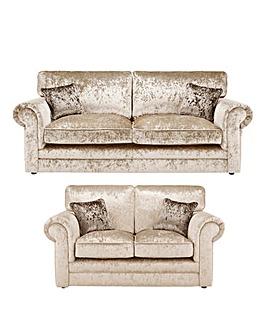 Nicolette Standardback 3 plus 2 Seater Sofa