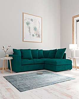 Jade Pillowback Righthand Corner Chaise