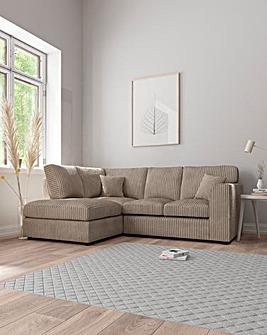 Jade Standardback Lefthand Corner Chaise Sofa
