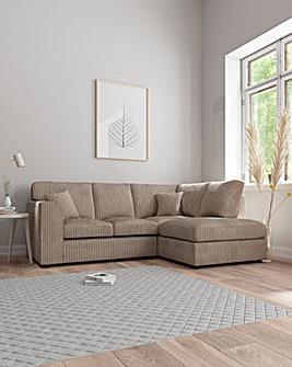 Jade Standardback Righthand Corner Chaise Sofa