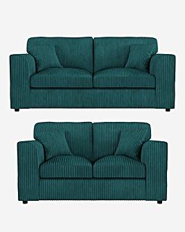 Jade Standardback 3 plus 2 Seater Sofa