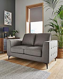 Alessia Nubuck-Effect 2 Seater Sofa