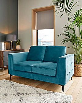 Alessia Velvet 2 Seater Sofa