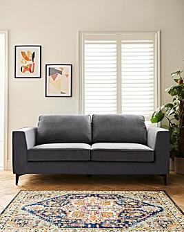 Alessia Velvet 3 Seater Sofa