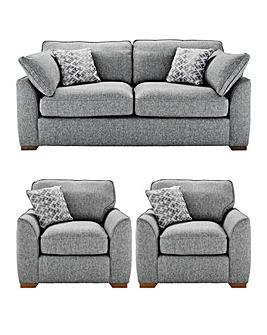 Ashton 3 Seater Sofa Plus 2 Chairs