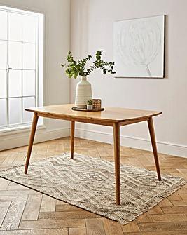Peyton Oak Large Rectangular Dining Table