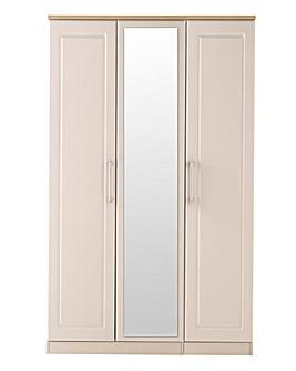 Taunton 3 Door Wardobe with Mirror