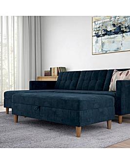 Taylor Fabric Storage Ottoman