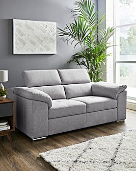 Ripley 2 Seater Sofa with Adjustable Headrest