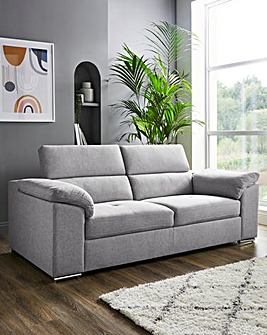 Ripley 3 Seater Sofa with Adjustable Headrest