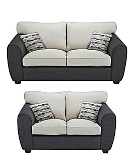 Harley 3 plus 2 Seater Sofa