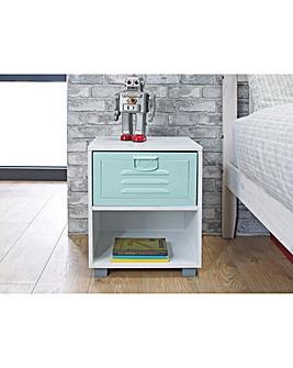 Colby Locker 1 Drawer Bedside
