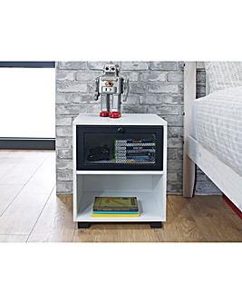 Kenz Industrial 1 Drawer Bedside