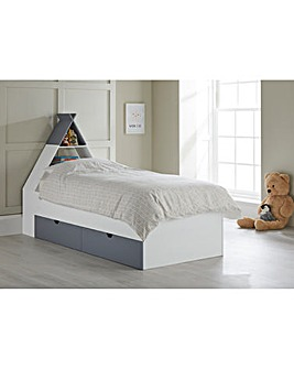 Tipi Cabin Bed with Storage