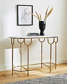 Sophia Marble Console Table