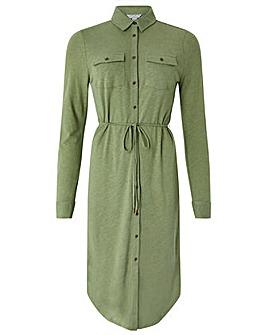 Monsoon Lovelle Linen Shirt Dress