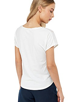 Monsoon Freya Broderie T-Shirt