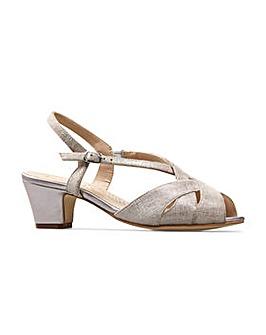 Van Dal Libby II Court Shoes Wide E Fit