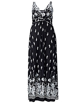 Izabel London Curve Floral Maxi Dress